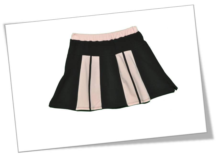Falda Negra y Rosa